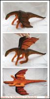 Dragon plushie by GabrielWings