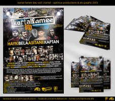 Kartal Fames Day Vol.1 | Afis Tasarimi by OptimusProduction