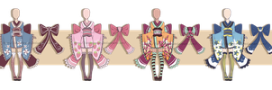 ...Maiden Kimonos...Adopts // 0/4 CLOSED by Seelenbasar