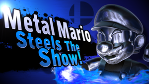 Metal Mario in Smash 4 by Kirbysmith