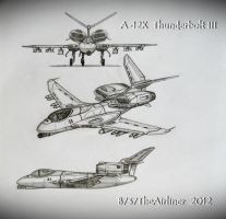 A-12X Thunderbolt III by B737TheAirliner