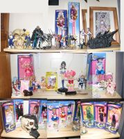 Sailor Moon Toy Collection by Stephanie-Chivas