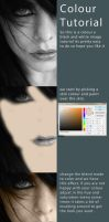Colour a black and white image tutorial by ElementOfOne1