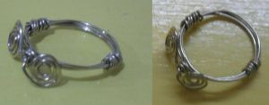 my first wire ring by Dragonfly929