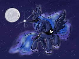 Praise the Moonlight by kwendynew
