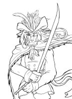 Masamune's little pirate WIP by lomstat