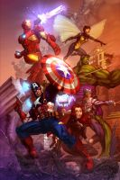 Avengers Assembled_COLOR by vest