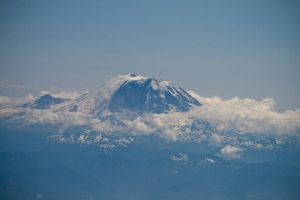 Mt. Rainier by Silver-Dew-Drop