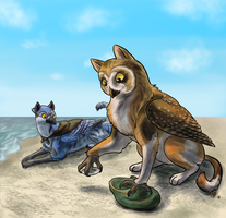 Seashell Collecting by comixqueen