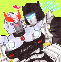 Jazz and Prowl first session by nezirio
