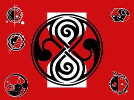 Gallifreyan Flag by Carthoris