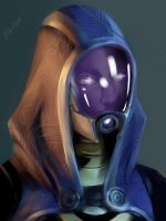 Tali'Zorah by Anivel