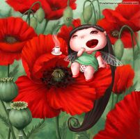 Poppy Fairy-Bug by LiaSelina