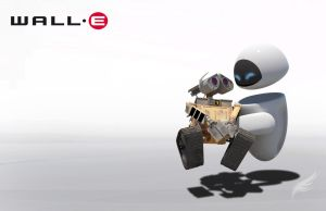 wallpaper wall-e eve by youcan619