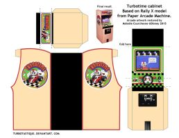 Turbotime cabinet in papercraft version! by Turbotastique