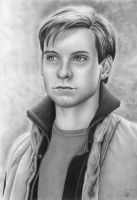 Tobey Maguire by LittleRamona