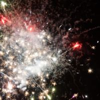 New year 2013: Fireworks 3 by VincentPhotography