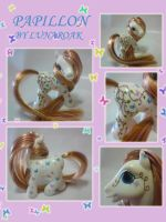 Papillon G3 custom pony by lunaroak