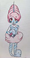cotton candy princess by Cler28