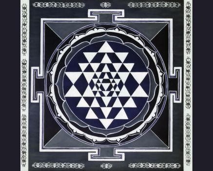Sri Yantra Wallpaper by vajrakrishna
