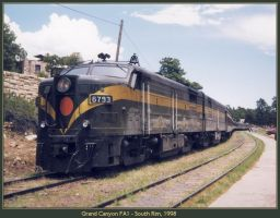Grand Canyon FA1 by classictrains