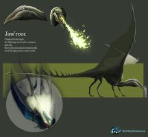 Jaw'Rooc: ref-sheet by Black-Wing24