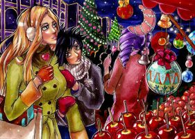 Love and Christmas by pink-pink