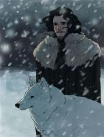 jon snow by wiccimm