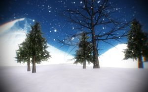 Winter Background DL by CrystalChell