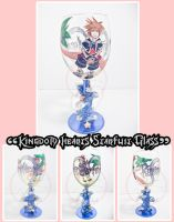 Kingdom Hearts Starfruit Glass by ForesakenFaerie