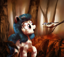 Autumn Woods by AnticularPony