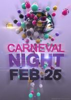 Carneval Night Poster by andraspop