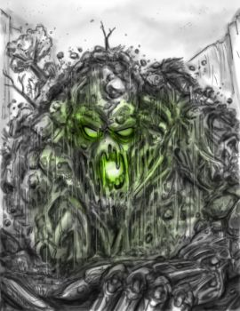 The Horror Rises Concept Art by Gazbot