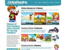 My Online Reading website by intrepica