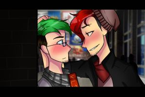 [Highschool AU: SEPTIPLIER] Hows it going? by CaseyKeshui