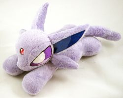 Espeon Mini Plush by TheHarley