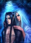 Sael and Velial by Marizano