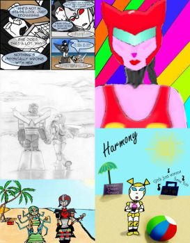 Competition Entries Sept by fembotsunite