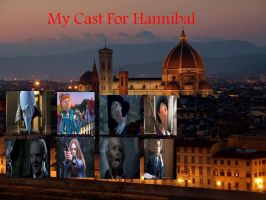 My Cast For Hannibal by Normanjokerwise