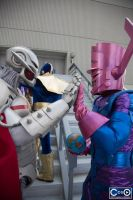 Ultron and Galactus, Friends Forever by Zaxmon