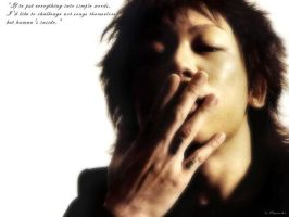 Kyo :Feeling of madness: by PeU