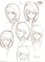 Yue sketches by Heba-chan