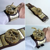 Sundial Wristwatch by Astalo