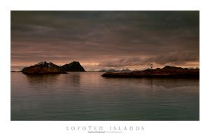 Lofoten Lighthouse by Stridsberg