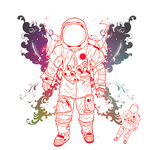 I R Spaceman by Scopejester