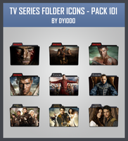 TV Series Folder Icons - Pack 101 by DYIDDO
