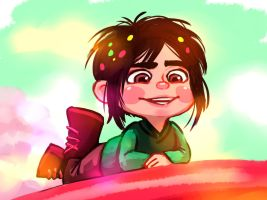 Vanellope (Gender bender) by Ripushko