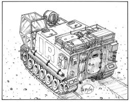 Exploration Vehicle Mk 2a by Frohickey