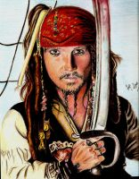 Captain Jack Sparrow by Fajralam