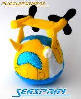 Puggleformer - Seaspray by callykarishokka